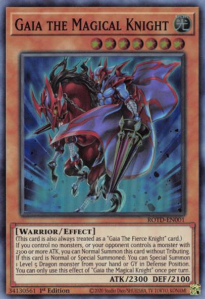 Gaia the Magical Knight ROTD-EN001 1st Ed
