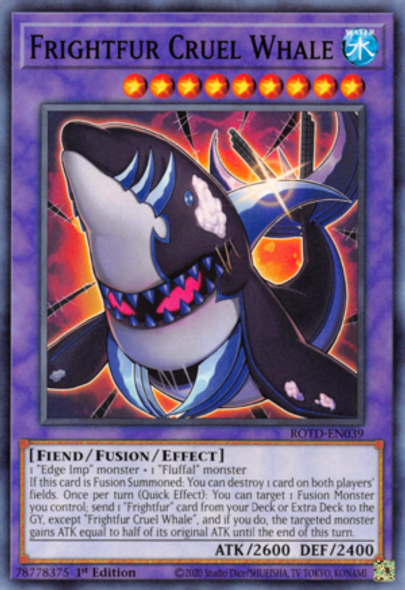 Frightfur Cruel Whale ROTD-EN039 1st Ed