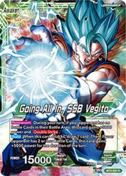 BT3-055 Vegito/Going All In, SSB Vegito