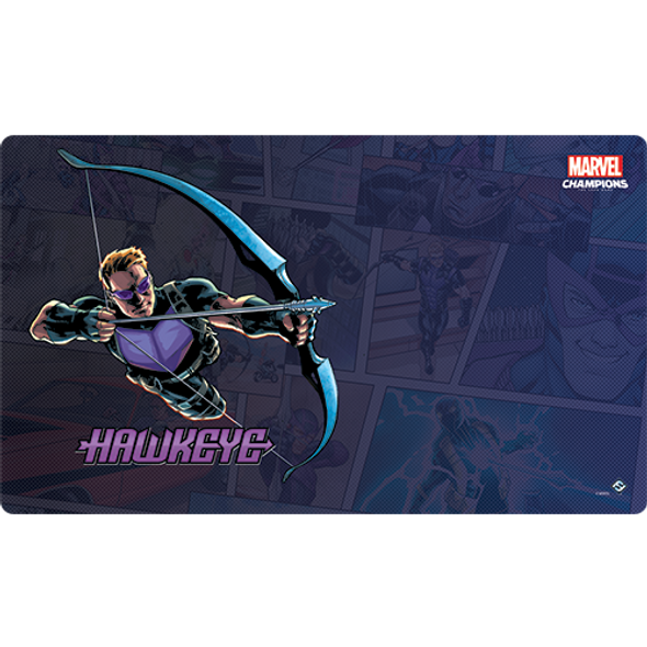 Marvel Champions LCG Hawkeye Game Mat