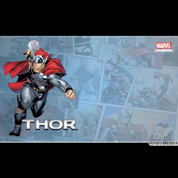 Marvel Champions LCG Thor Game Mat (On Demand Order)
