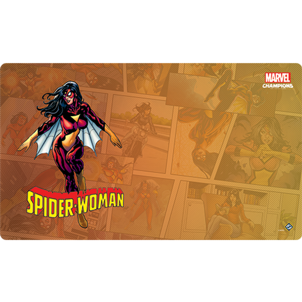 Marvel Champions LCG Spider-Woman Game Mat