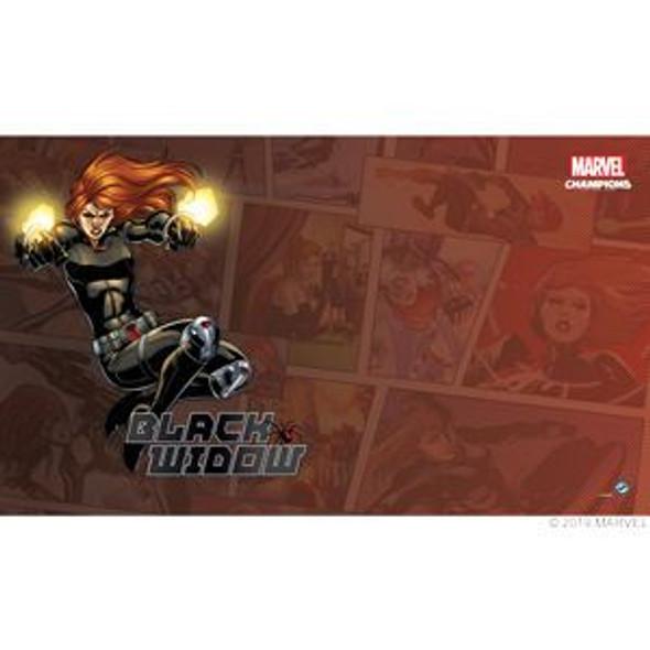 Marvel Champions LCG Black Widow Game Mat