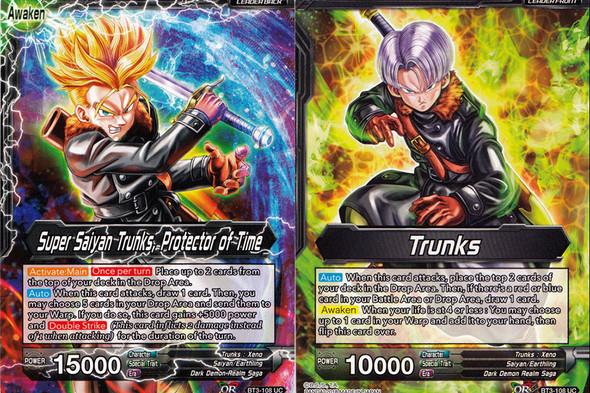 BT3-108 Trunks/Super Saiyan Trunks, Protector of Time