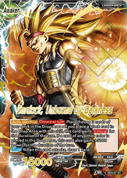 SD3-01 The Masked Saiyan/ Bardock, Unbound by Darkness