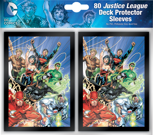 Justice League - Deck Protector Sleeves (80 count)