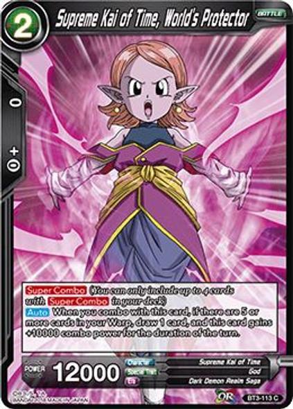 BT3-113 Supreme Kai of Time, World's Protector