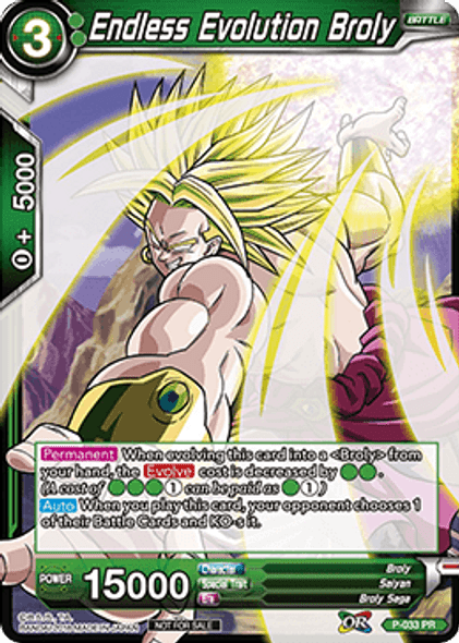 P-033 Endless Evolution Broly