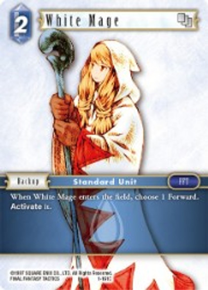 1-161C White Mage (1-161)