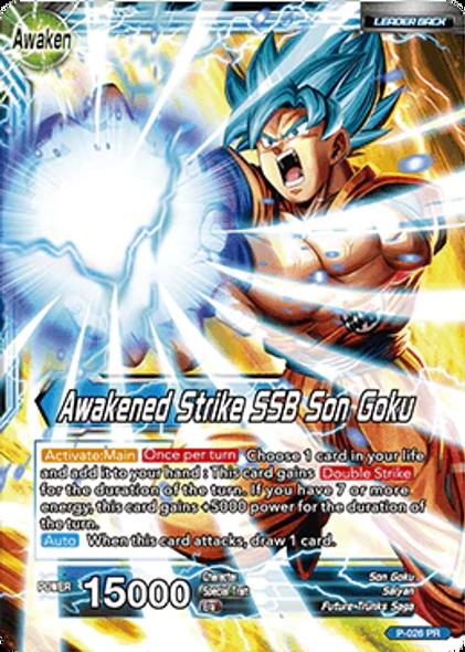 P-026 Son Goku/Awakened Strike SSB Son Goku