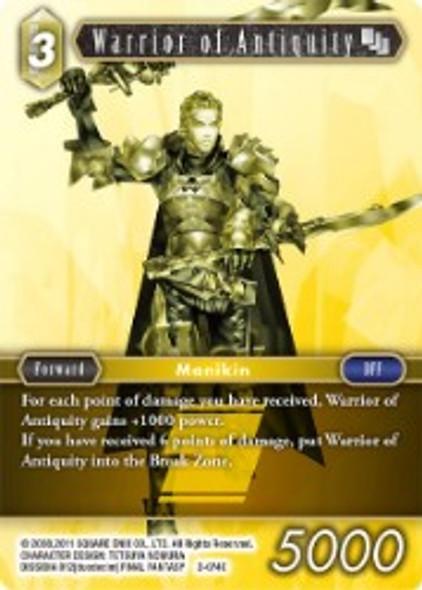 2-074C Warrior of Antiquity (2-074)