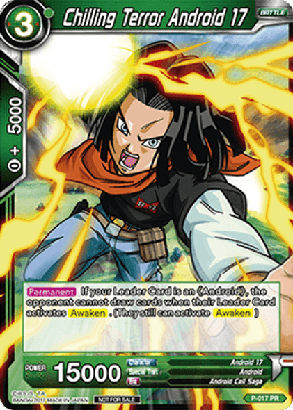 P-017 Chilling Terror Android 17