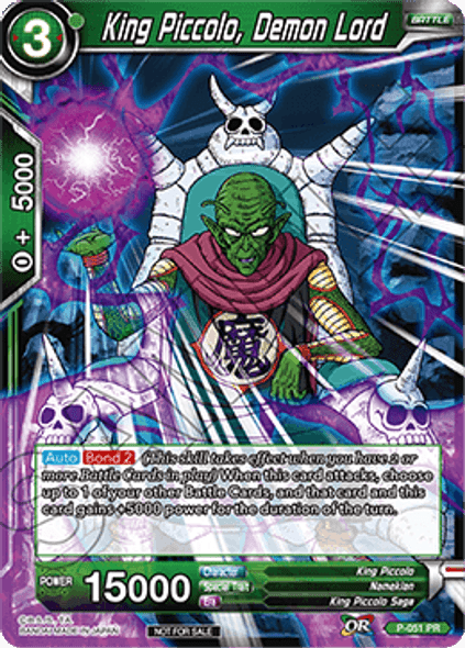 P-051 King Piccolo, Demon Lord