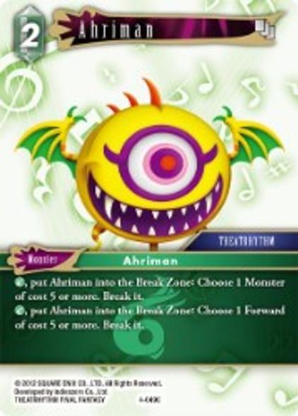 4-049C Ahriman (4-049) - Foil