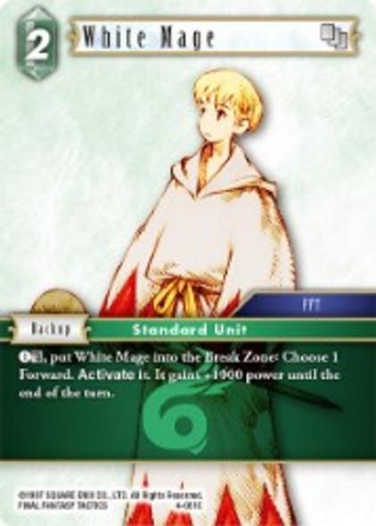4-061R White Mage (4-061)