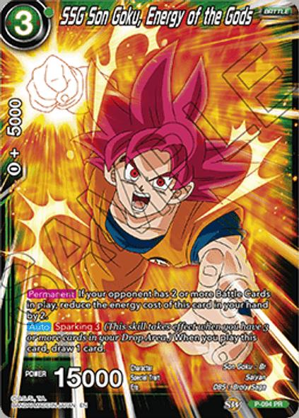 P-094 SSG Son Goku, Energy of the Gods