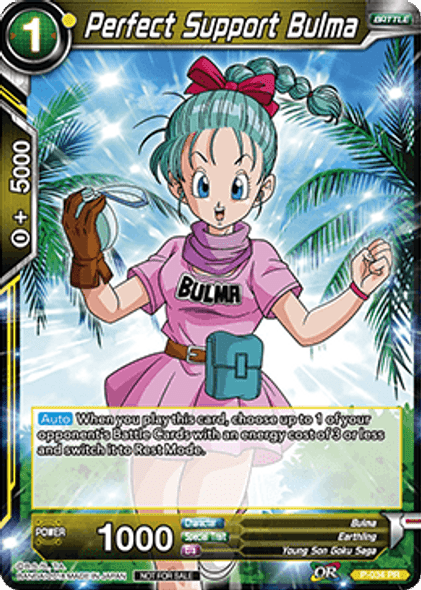 P-034 Perfect Support Bulma