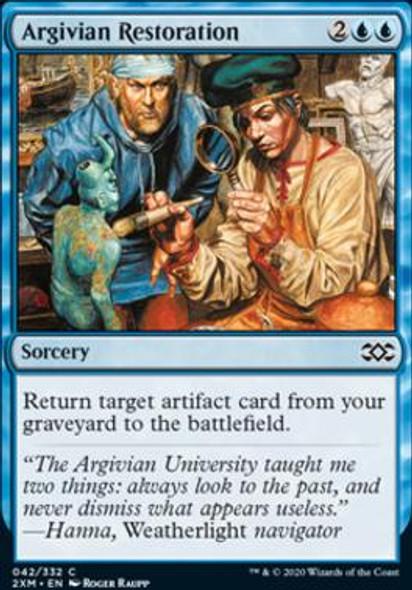 Argivian Restoration (42 of 384) - Foil