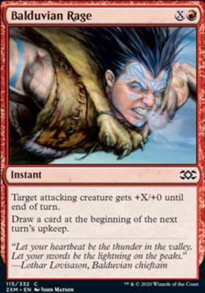 Balduvian Rage (115 of 384) - Foil