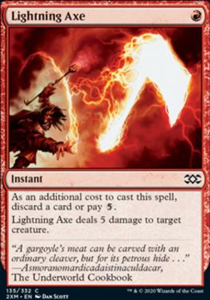 Lightning Axe (135 of 384) - Foil