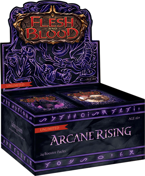 Flesh and Blood - Arcane Rising Booster Box - Unlimited (Sealed)