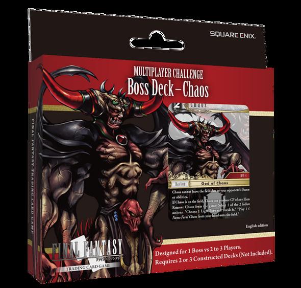 Final Fantasy TCG Multiplayer Challenge Boss Deck Chaos