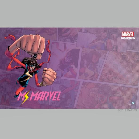 Marvel Champions LCG Ms Marvel Game Mat