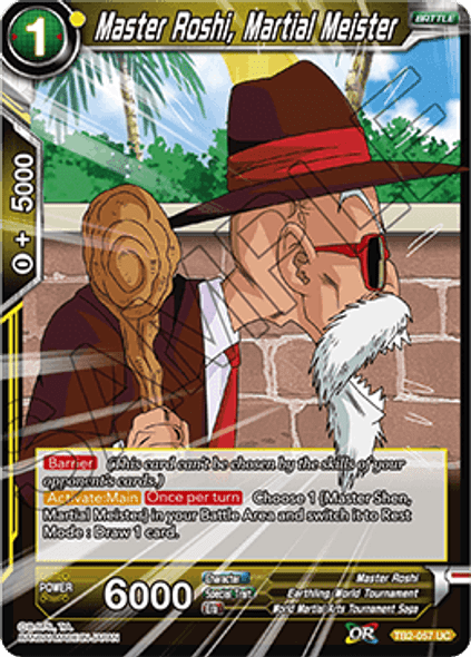 TB2-057 Master Roshi, Martial Meister