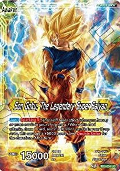 TB3-034 Son Goku / Son Goku, The Legendary Super Saiyan