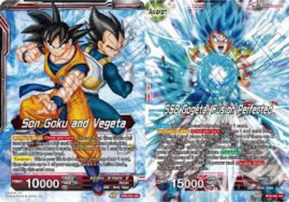 BT6-001 Son Goku and Vegeta / SSB Gogeta, Fusion Perfected