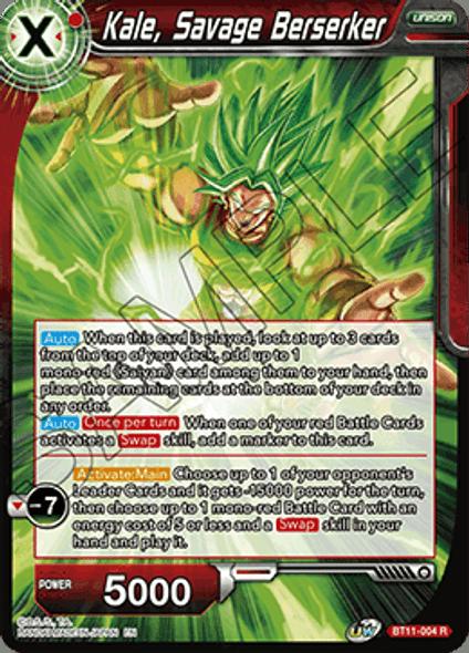 BT11-004 Kale, Savage Berserker