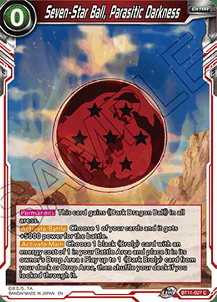 BT11-027 Seven-Star Ball, Parasitic Darkness