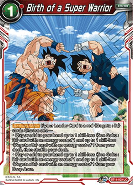 BT10-029 Birth of a Super Warrior