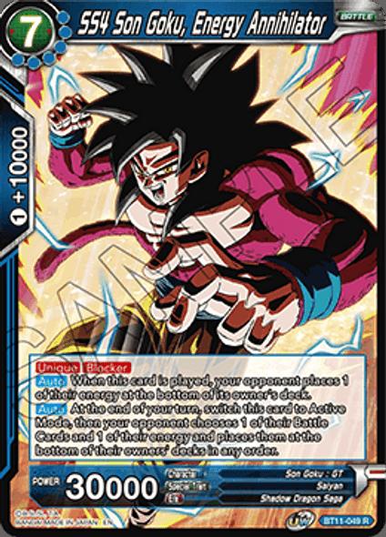 BT11-049 SS4 Son Goku, Energy Annihilator