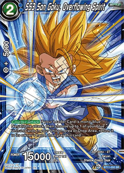 BT11-050 SS3 Son Goku, Overflowing Spirit