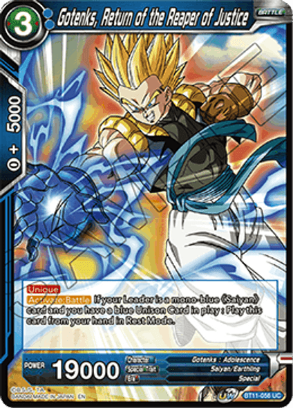 BT11-056 Gotenks, Return of the Reaper of Justice