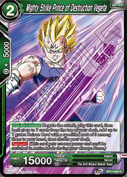BT11-68 Mighty Strike Prince of Destruction Vegeta