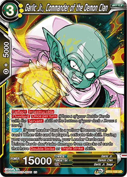 BT11-105 Garlic Jr., Commander of the Demon Clan