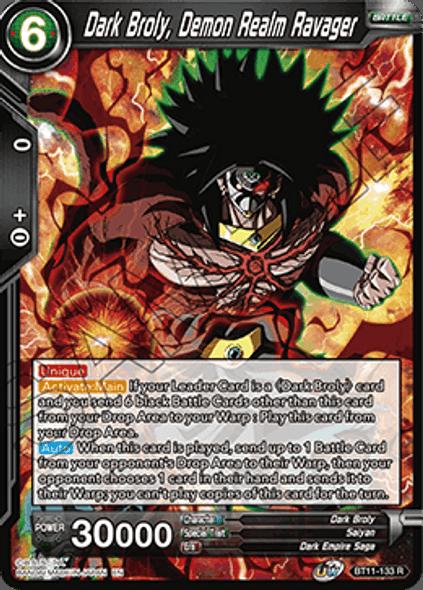 BT11-133 Dark Broly, Demon Realm Ravager