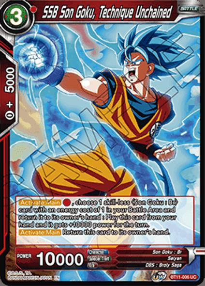 BT11-006 SSB Son Goku, Technique Unchained - Foil