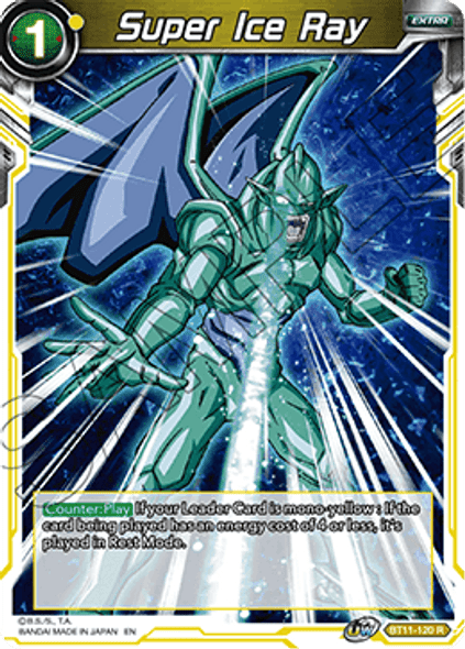 BT11-120 Super Ice Ray - Foil
