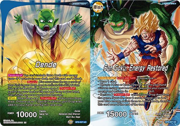 BT6-027 Dende / Son Goku, Energy Restored