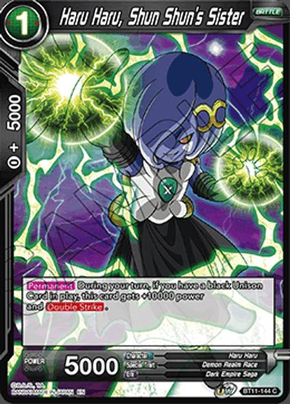 BT11-144 Haru Haru, Shun Shun's Sister - Foil