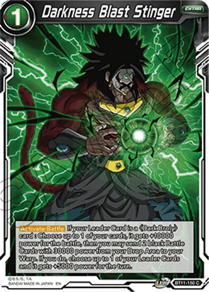 BT11-150 Darkness Blast Stinger - Foil