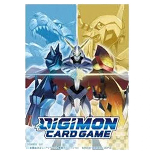 Digimon Card Game Official Sleeves 60ct - Omega Evolution
