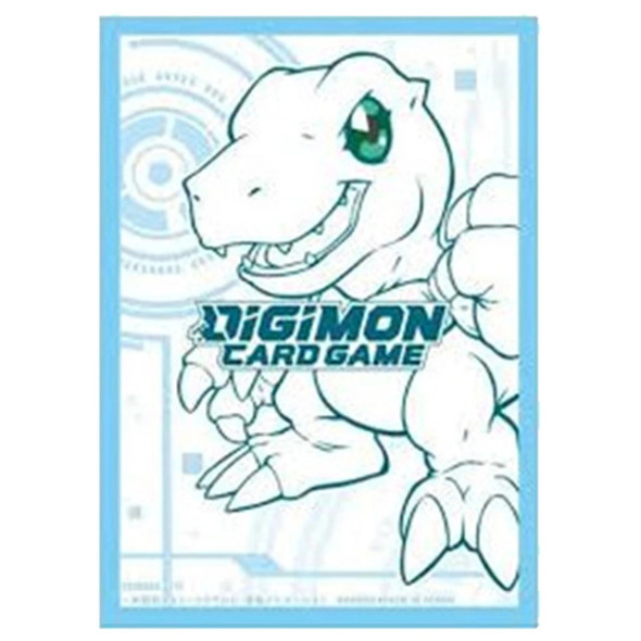 Digimon Card Game Official Sleeves 60ct -  Agumon