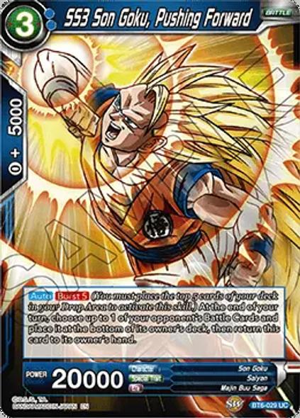BT6-029 SS3 Son Goku, Pushing Forward