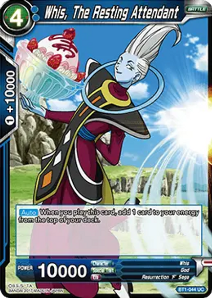 BT1-044 Whis, The Resting Attendant