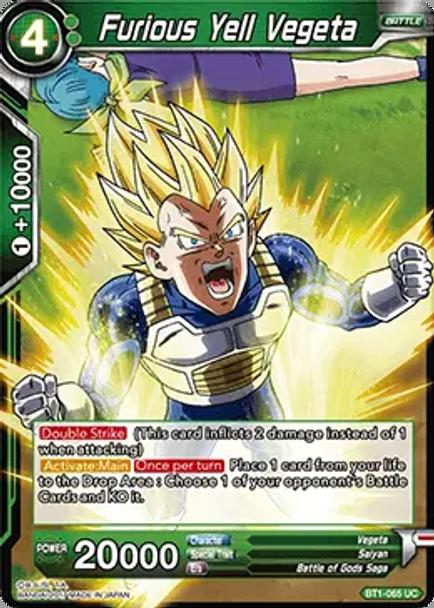 BT1-065 Furious Yell Vegeta
