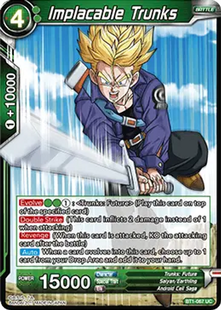 BT1-067 Implacable Trunks